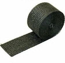 "2"" x 25' inch Header Exhaust Insulating Manifold Thermal Heat Temp Wrap Black"