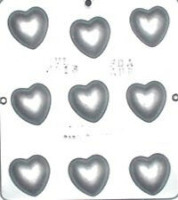 """1 1/2"""" Heart Chocolate Candy Mold Valentine  3013 NEW"""