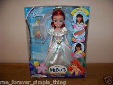 Walt Disney Princess Little Mermaid Bride Doll Royal Wedding