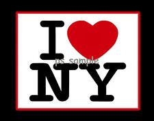 New York - I LOVE NY - Fridge Magnet