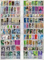Repubblica - Lotto di 116 francobolli - Usati