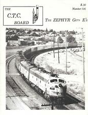 CTC Board Magazine June 1973 E Unit Zephyr Amtrak Power Report Railfan Maps SP