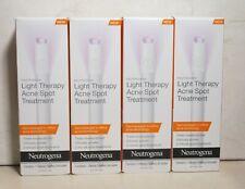 Neutrogena Light Therapy Acne Spot Treatment ~ 4 Piece Lot ~ Details
