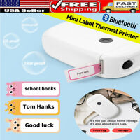Pocket Mini Label Maker bluetooth Thermal Label Name Sticker Printer Wireless