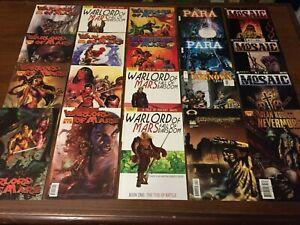 Huge lot 40 SCI-FI Comic Books WARLORD OF MARS JUDGE DREDD NYC MECH MORE 047