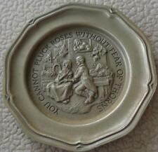 You Cannot Pluck... - Franklin MInt Miniature Collectible Plate - VGC BRONZE