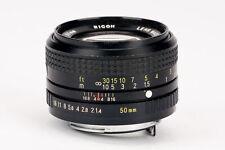 Rikenon XR Ricoh 50mm 50 mm 1:1.4 1.4 Lens -- Pentax PK
