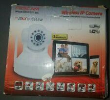 Foscam FI8918W Wireless Pan and Tilt IP Camera WHITE