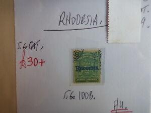 RHODESIA STAMP S.G. 100b ½d F.U.