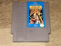 Advance Dungeons & Dragons Pool of Radiance Nintendo Nes Tested Authentic