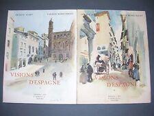 Espagne Visions d'Espagne aquarelles et dessins de Vernon Howe Bailey 1927
