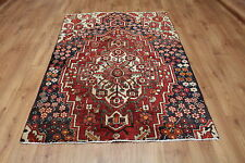 OLD WOOL HAND MADE PERSIAN ORIENTAL FLORAL RUNNER AREA RUG CARPET 166x120CM