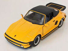 Porsche 930 Turbo 1:18 Diecast Car - Yellow - by Revell