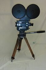 35MM G.C. MITCHELL CAMERA W/ HEAD- TRIPOD 1000' MAG ARRI GOOD RUNNING CAMERA