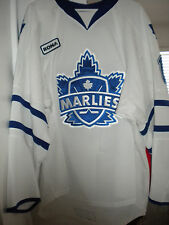 AHL 2010-2011 JEFF COWAN GAME WORN TORONTO MARLIES  HOCKEY JERSEY
