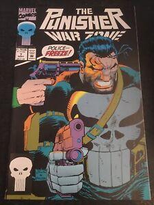 Punisher:War Zone#7 Incredible Condition 9.4(1992) 1st Lynn Micheals App