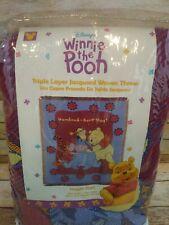 Winnie The Pooh Throw Blanket Vintage Hundred Acre Hug Eeyore Disney Tapestry