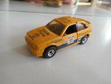 "Matchbox Opel Kadett GSI / Vauxhall Astra GTE ""Mobile Phone"" in Yellow"