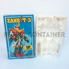 Vintage Robot - CLOVER ZANBOT 3 - Zambot Die Cast Empty Box Scatola Vuota