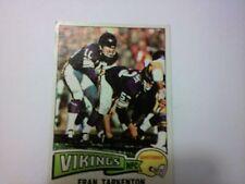1975 FRAN TARKENTON TOPPS NFL FOOTBALL CARD #400 MINNESOTA VIKINGS SUPER SHARP !