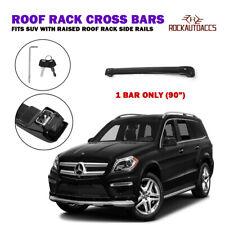 "ROKIOTOEX Universal Roof Rack Cross Bar For SUV Roof Rack Side Rails 90""- 1 Bar"