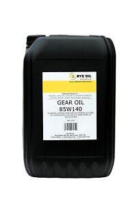 85W/140 GEAR OIL 25 LITRE (NATO O-226, API GL-5, MIL-L-2105D) LONG DRAIN