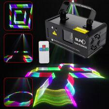 DMX 512 RGB Stage Laser Light Bühnenbeleuchtung Animation Beam Scan Light Show