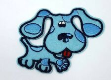 Blues Clues Nickelodeon Blue Dog Vintage Retro Style 90s Kids Iron on Patch NEW