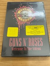 Guns N Roses - Welcome to the Videos DVD BRAND NEW