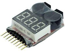 YUKI MODEL 997227 Akku LiPo-Checker Tester 1-8S Alarm Buzzer einstellbar