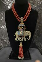 SIGNED HEIDI DAUS SULTAN'S OF CHIC CRYSTAL NECKLACE SPECTACULAR SHOWSTOPPER PC