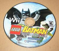 LEGO Batman: The Videogame (Game Only) Nintendo Wii Fast Shipping