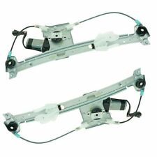 Rear Power Window Regulators & Motors Pair Set for 05-09 LaCrosse Allure