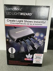 Lumations LED Light Wizard Connect Up to 8000 LED Lights With Remote Control New