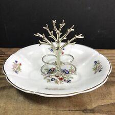 More details for royal tara fine bone china ireland trinket dish with jewellery organiser