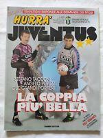 HURRA' JUVENTUS N. 11 1991 STEFANO TACCONI ANGELO PERUZZI TRAPATTONI + FASCICOLO