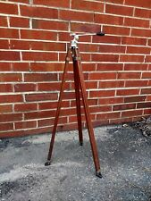 ANTIQUE CRAIG THALHAMMER WOODEN CAMERA TRIPOD STAND HOLLYWOOD MOVIE PHOTOGRAPHY