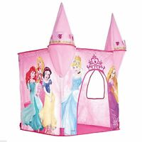 Disney Princesa Plegable Rosa Castillo Tienda Nuevo Niños 100% Oficial