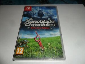 SWITCH  GAME  XENOBLADE CHRONICLES definitive edition   NEW/SEALED