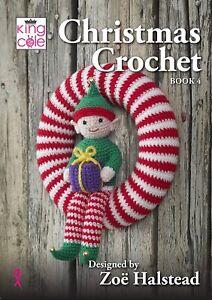 King Cole Christmas Crochet Book 4