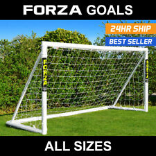 FORZA Football Goals | PVC GARDEN GOALS | Steel42, Alu60 Goal Posts – Full Range
