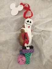 Disney Jack Skellington Nightmare Before Christmas Santa Decoration Ornament