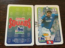 Subbuteo Squads 1996 Trading Card: Everton - ANDREI KANCHELSKIS