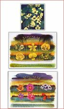 TUV9907 Flowers 2 sheets and block