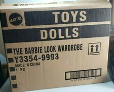 Mattel The Barbie Look Wardrobe With 3 different backdrop Nrfb New Unopened
