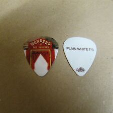 Plain White T'S Tim Lopez 2010 Wonders of the Younger Tour Guitar Pick