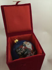 New listing Valley View Casino Ca Jingle Bells Christmas Tree Holiday Ornament Ball in Box