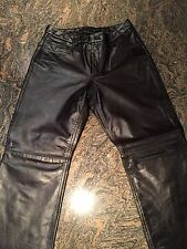 Express Leather Pants - Size 8 - Black