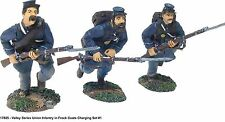 Britains 17805 Valley Series  - Union Infantry In Frock Coats Charging Set # 1