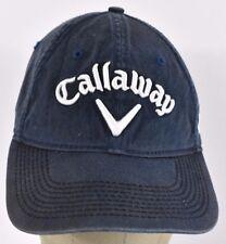 Navy Blue Callaway Golf Company Logo Embroidered Baseball hat cap adjustable